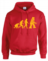 ROBOT EVOLUTION HOODIE - INSPIRED BY SHELDON COOPER THE BIG BANG THEORY